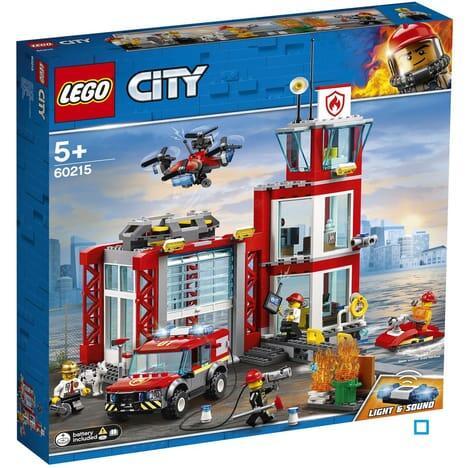 Jouet Jouet Lego Metropolis – La caserne de pompiers 60215 (By 9.98€ sur la carte)