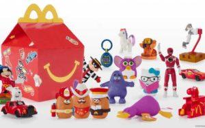 Jouets McDonald's remet jouets retro dans ses Entirely jubilant Meal