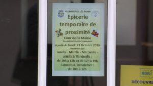 Epicerie Le foyer rural de Plombières-les-Dijon ouvre une épicerie provisoire
