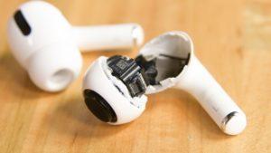 High-tech Apple AirPods Legitimate : sans shock, c'est du jetable