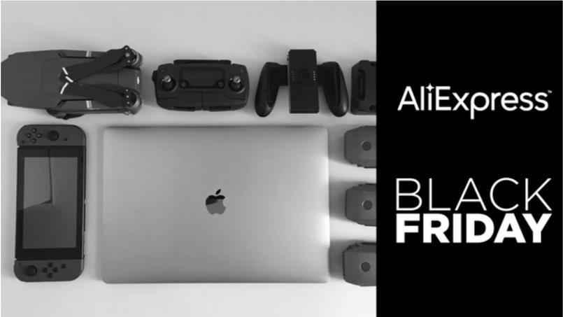 High-tech Black Friday Aliexpress 2019: tous les bons plans, offres et promos