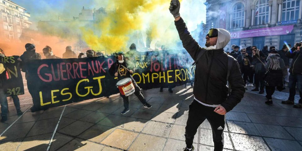 Musique Plusieurs milliers de « gilets jaunes » défilent à Montpellier, Strasbourg, Toulouse ou Bordeaux