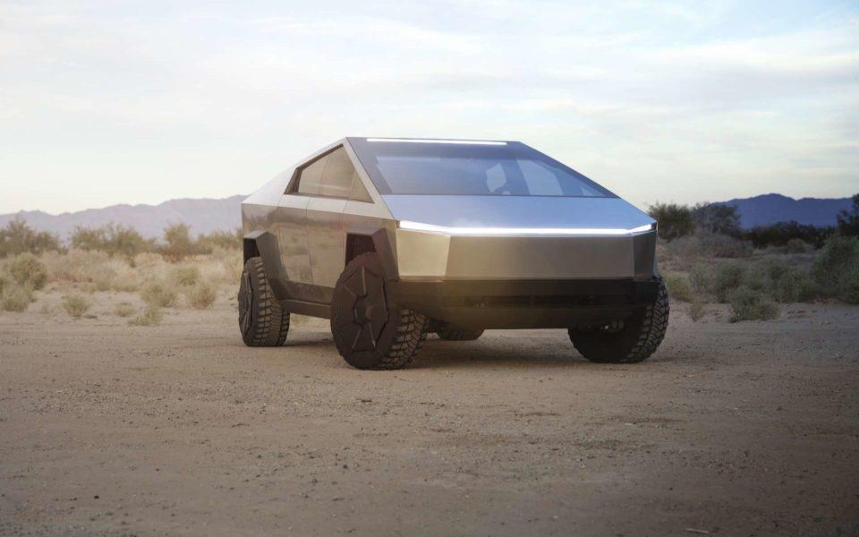 Camping Cybertruck de Tesla : la shock est bien au rendez-vous