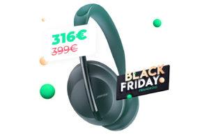 Casque audio Le Bose Headphones 700 n'a jamais été aussi peu cher sur Amazon, 316e