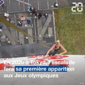 Jeux video VIDEO. Structure imaginé pour les JO, Français en embuscade… Observation ça marche, l'escalade olympique ?