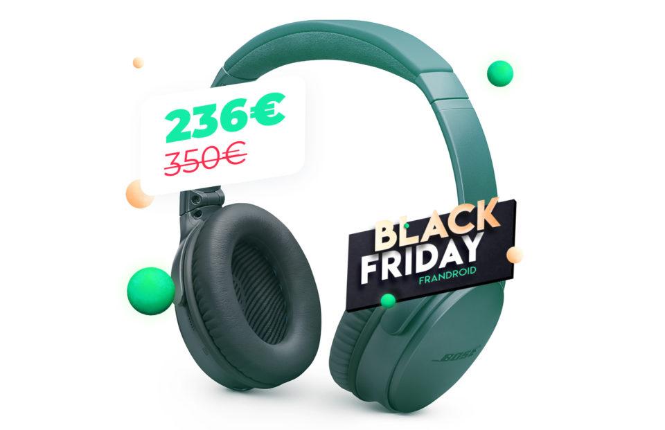 Casque audio Fini les fils avec le Bose QC 35 II à 235 euros pour le Dusky Friday
