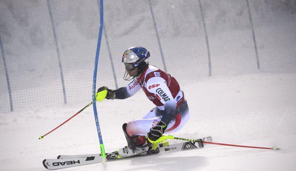 Ski Ski alpin: Noël en tête après la première manche du slalom de Levi