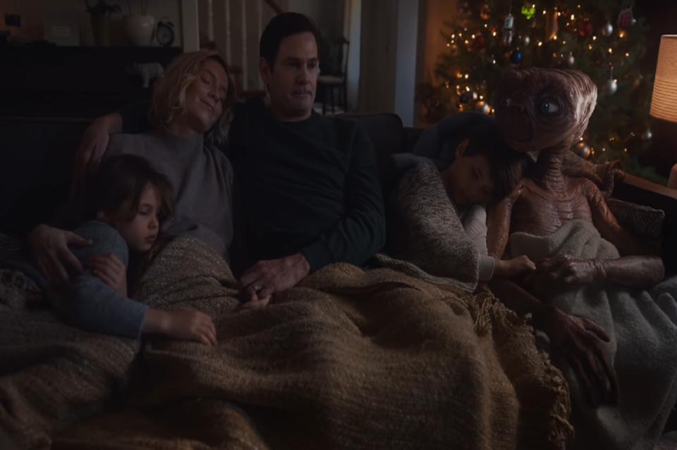 Jardin 37 ans après, E.T. est de retour… pour une pub pleine de nostalgie