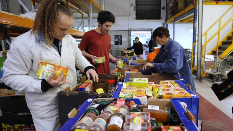 Epicerie Précarité: ces étudiants qui se font aider pour manger