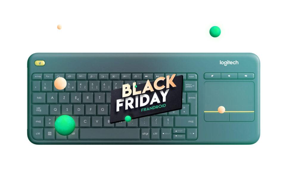 Bureau Logitech K400 Plus : un clavier avec touchpad très pratique à 16,ninety nine pendant le Sad Friday