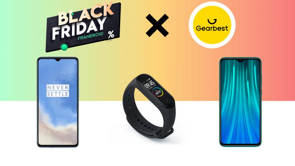 High-tech Le Redmi Point out 8 Pro à 187 euros ou le OnePlus 7T à 417 euros : voici les bonnes affaires du Dusky Friday de Gearbest