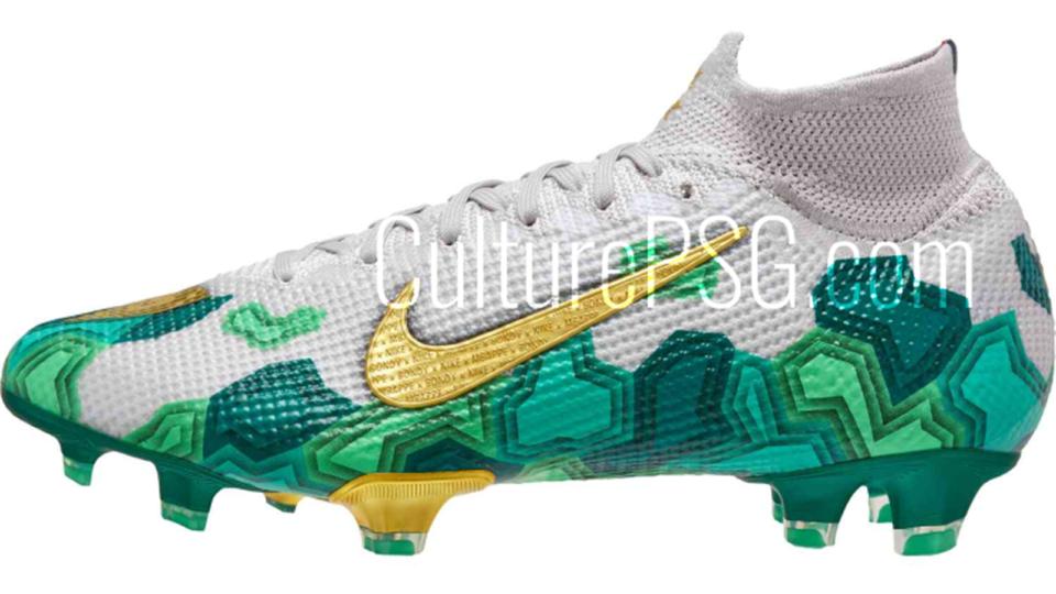 Chaussures Des crampons aux couleurs de Bondy : Nike rend hommage à la ville natale de Mbappé