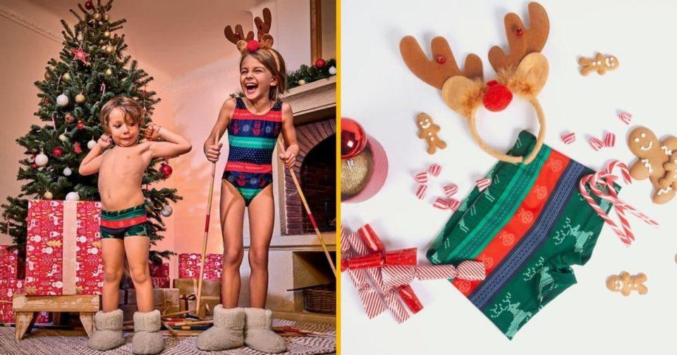 Maillot de bain [TOPITRUC] Des maillots de bain de Noël en édition limitée
