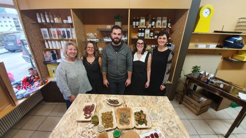 Epicerie A Reims, cinq producteurs, artisans et commerçants bio se réunissent dans une boutique