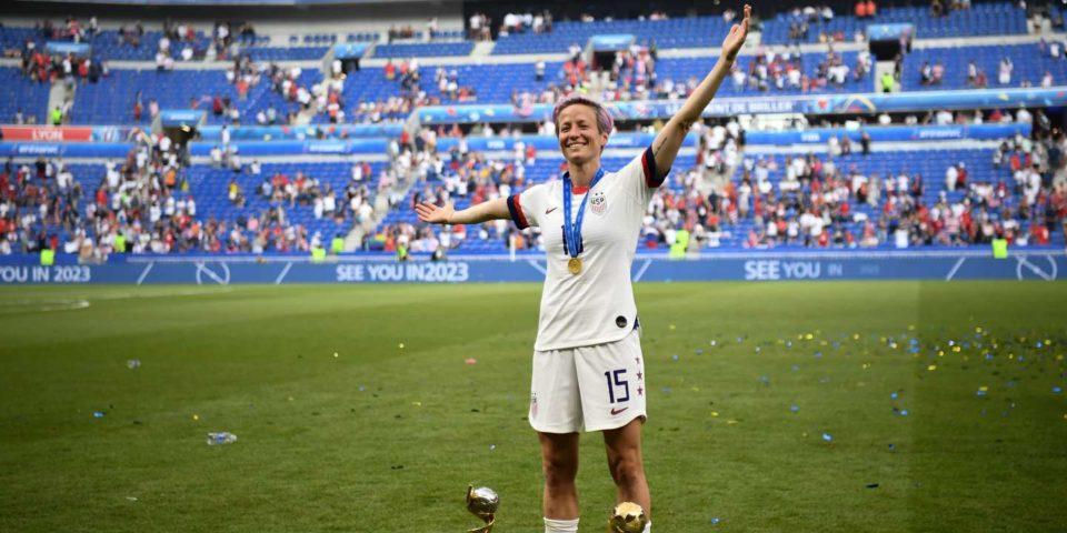 Football Ballon d'or féminin : Megan Rapinoe, évidemment