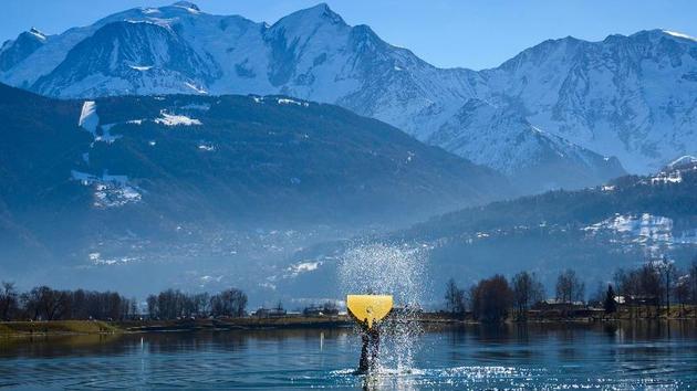 Ski 5 activités hivernales pour un week-close sportif au lac d'Annecy