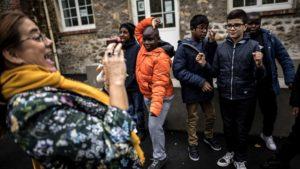 Chaussures de sport Ces collégiens autistes sont scolarisés dans une unité sur mesure, première en France