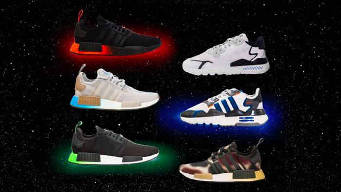 Chaussures Adidas a lancé des sneakers inspirées de Neatly-known person Wars