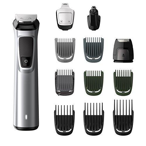Rasage Tondeuse visage cheveux et corps 12 en 1 Philips Série 7000 MG7710/15