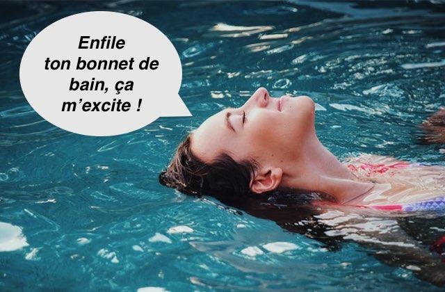 Maillot de bain Ma première fois de nuit dans une piscine municipale avec un maître nageur
