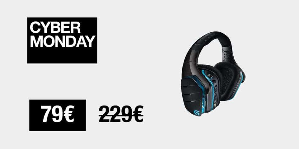 Casque audio Cyber Monday : le casque Logitech G933 Artemis Spectrum au prix sacrifié de seventy nine€