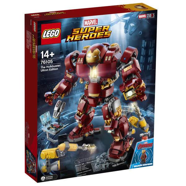 Jouet Jouet Lego Wonder Broad Heroes Le Broad Hulkbuster – 76105