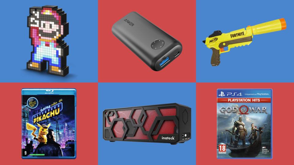 Jeux video Nos 10 idées cadeaux pas chers, ici tout est à moins de 20 euros