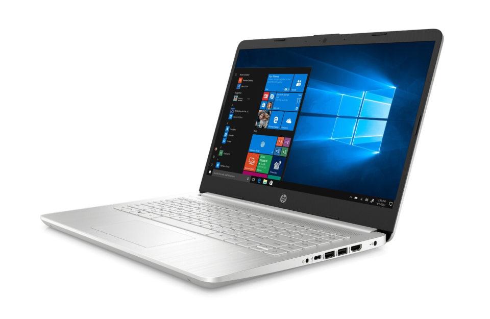 Bagage Le pocket e-book HP Notebook 14S dilapidated à moins de 500 euros avec une souris, une housse et un an d'Workplace 365