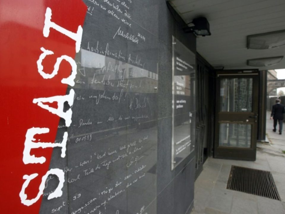 Bijoux Cambriolage au musée de la Stasi à Berlin