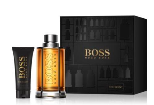 Rasage Coffret Hugo Boss The scent Eau de Toilette pour Hommes – 200 ml + Baume après-rasage – 75 ml