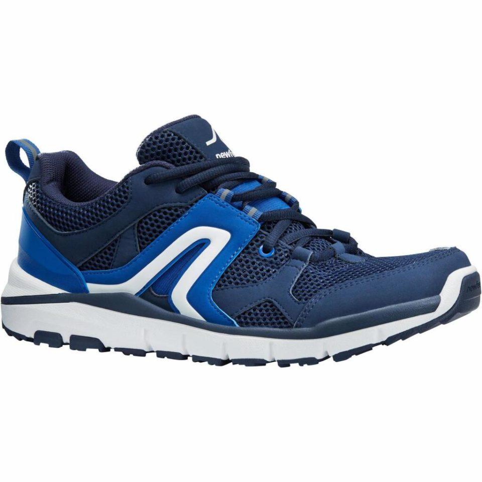 Chaussures de sport Chaussures Newfeel de marche sportive homme HW 500 Mesh marine