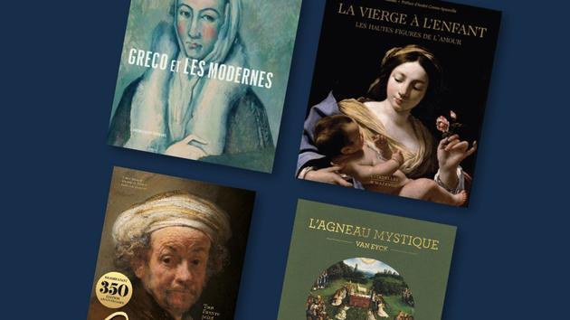 Livres Greco, Rembrandt, Van Eyck… Tout l'amour de l'art work dans de beaux albums pour Noël