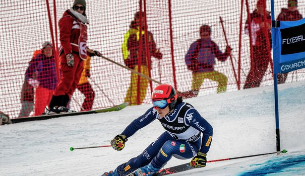 Ski Ski: Brignone remporte le géant de Courchevel, Shiffrin très loin