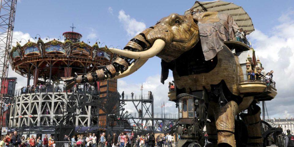 Bricolage A Nantes, une friche industrielle devenue île aux trésors numériques
