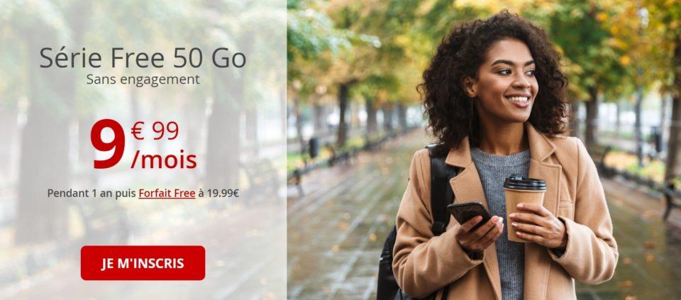 Livres Free Mobile : 50 Plod à moins de 10 €, puis le double après 1 an