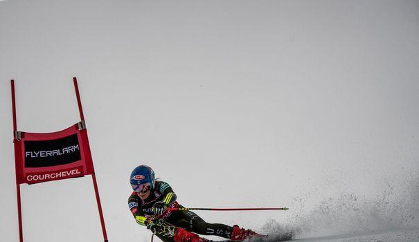 Ski Ski alpin: Shiffrin hors du coup, chamboule tout à Courchevel