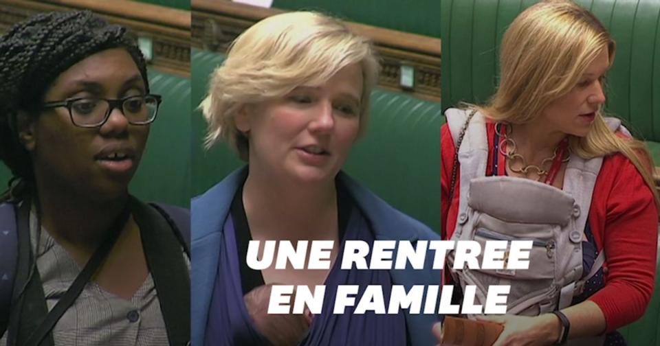 Bebe Ces députées ont prêté serment au Parlement britannique avec leur bébé