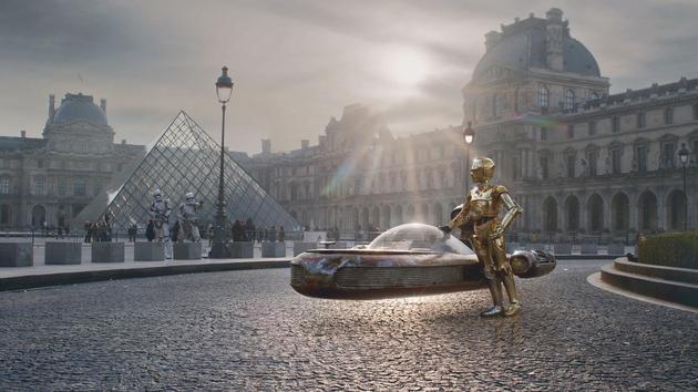 Jardin Famous individual Wars: il était une fois dans une galaxie pas si lointaine… Paris
