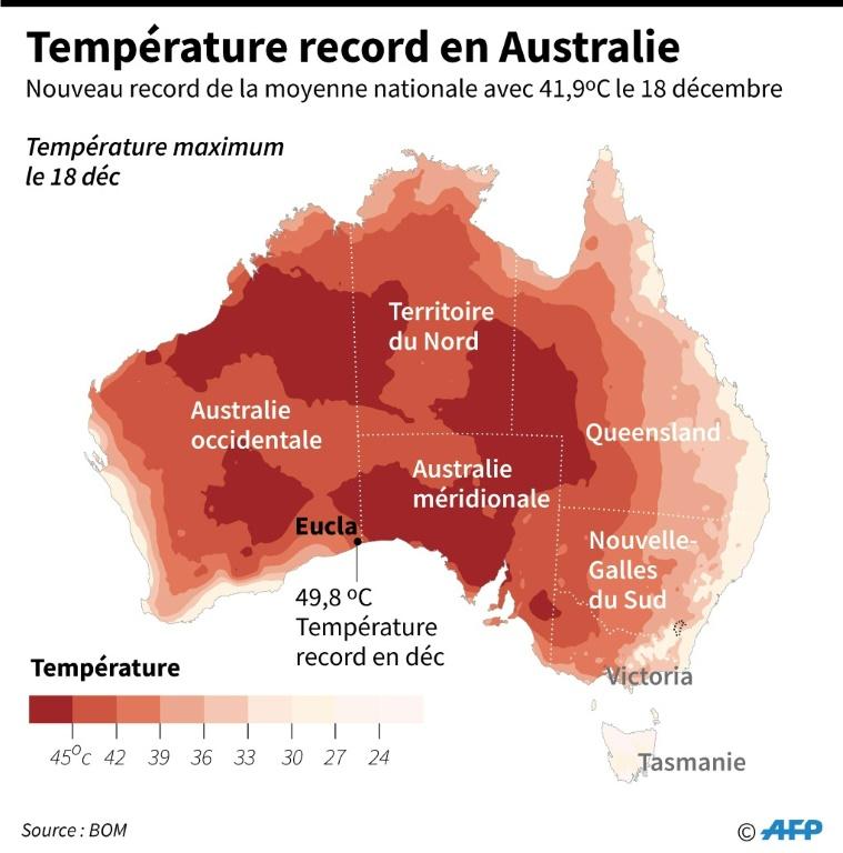 Camping En Australie, la sécheresse plombe les comptes des agriculteurs