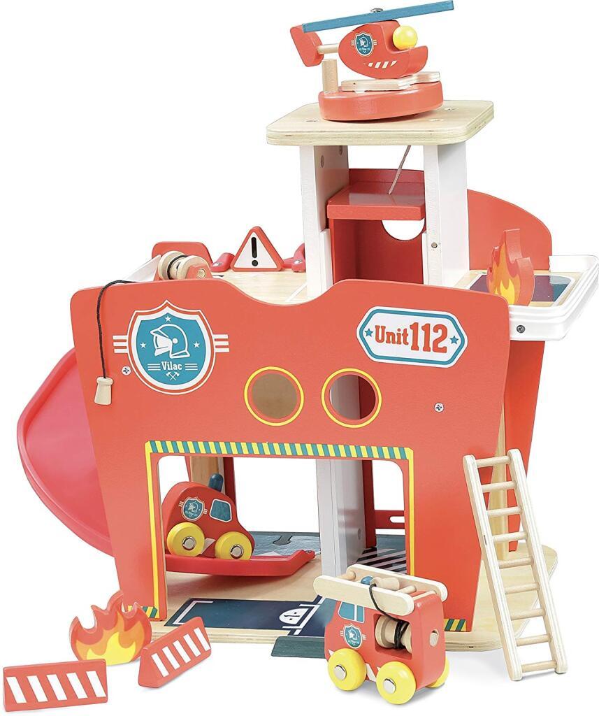 Jouet Jouet Vilac Vilacity Caserne de Pompiers