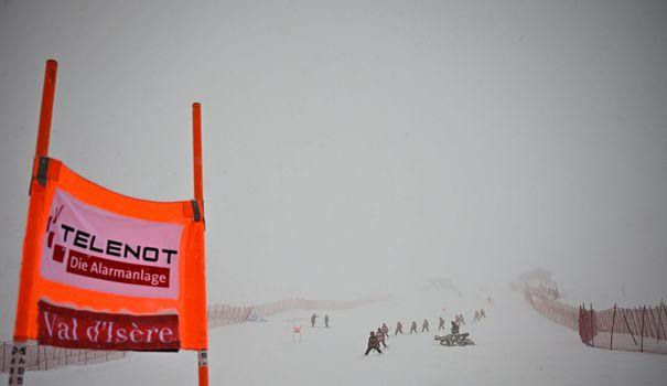 Ski Ski alpin: la descente dames de Val d'Isère annulée