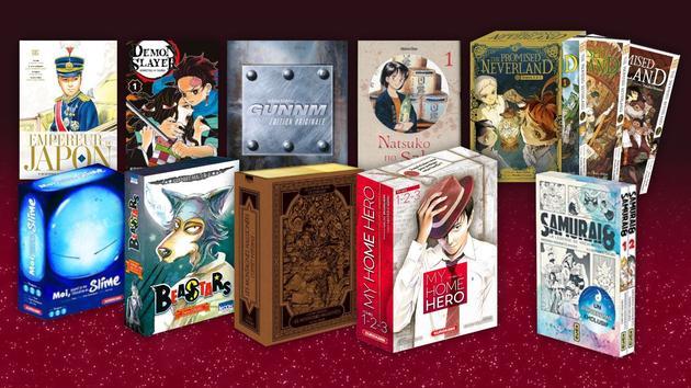 Animaux Dix mangas à lire au pied du sapin de Noël