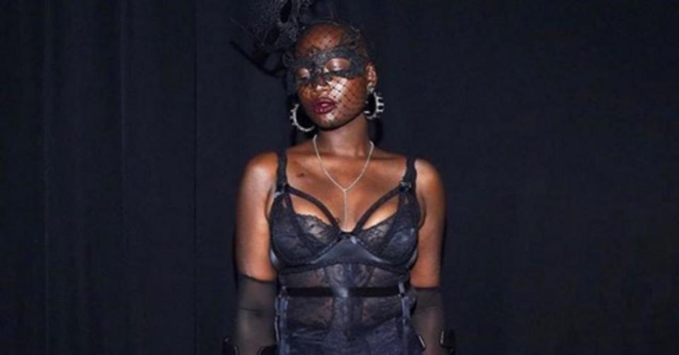Lingerie L'hommage de Rihanna à Mama Cax, mannequin morte à 30 ans