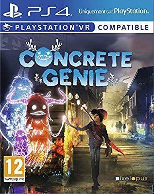 Jeux video Concret genie sur PS4 (VR)