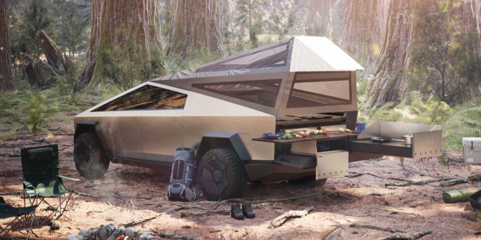 Camping Tesla ajoute enfin un mode tenting à ses voitures