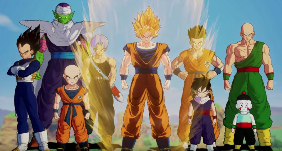 Musique Dragon Ball Z Kakarot : Bandai Namco dévoile la séquence d'ouverture