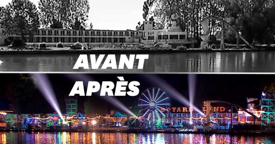 """Maillot de bain """"Boyard Land"""": cette piscine abandonnée a servi de décor à France 2"""