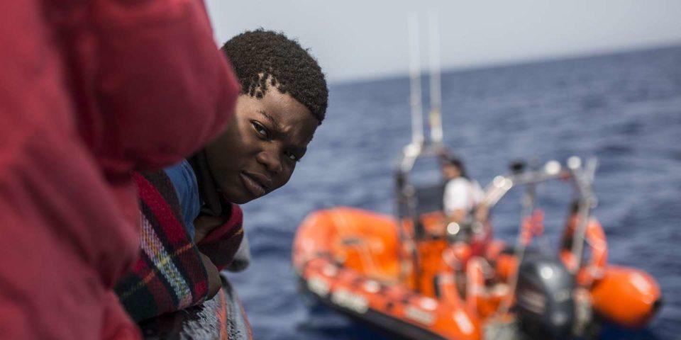 Enfant 11 439 migrants sont arrivés en Europe par les côtes italiennes en 2019