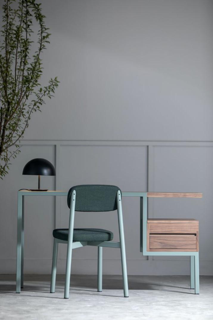 Bureau Ktab, le bureau bi-matière par le designer et architecte José-Pascal Zaidan pour Kann Form