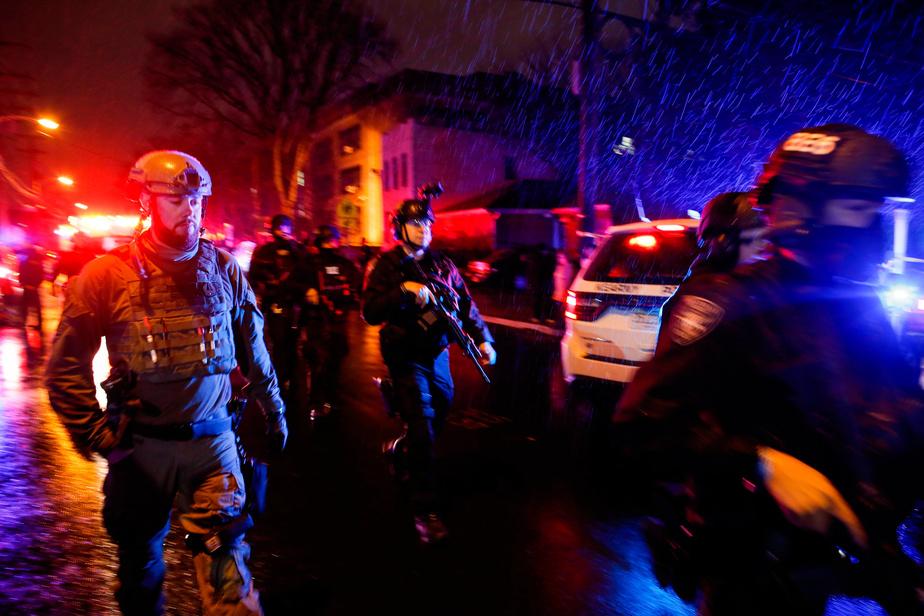 Epicerie Six morts dans une fusillade dans le Soundless Jersey